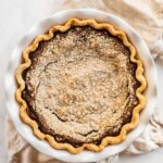 Overhead image of pennsylvania dutch shoo fly pie | All Images © Beyond the Butter™